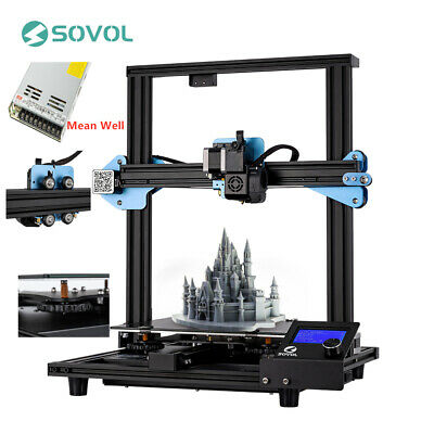 2019 New Sovol Sv01 3D Printer Direct Drive DIY Kit 240x280X300mm Meanwell Power