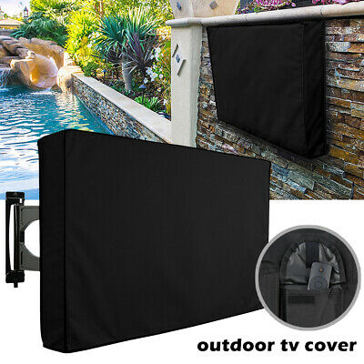 30-58 Inch Dustproof Waterproof TV Cover Outdoor Patio Flat Television Protector