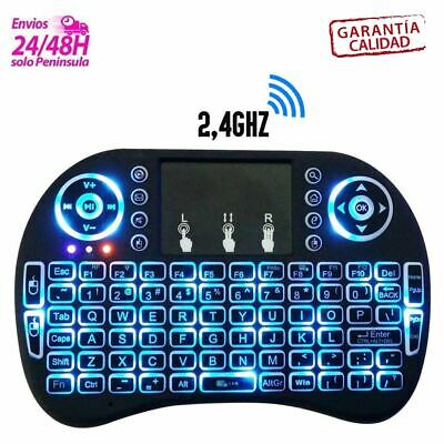 Mini Aire Ratón 2.4g Teclado Inalámbrico Touchpad Remoto Para Smart TV Android
