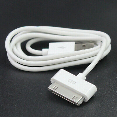 Charging Cable For iPad2 3 iPhone 4 4S 3G iPod PVC USB Charger White 1M Touch