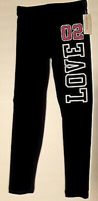 Girls Bobbie Brooks Soft Black leggings Sizes  6/6x - 7/8