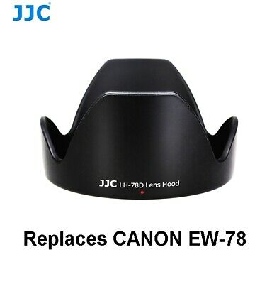 NEW JJC LH 78D Lens Hood Canon EW-78D EFS 18-200mm FREE Post