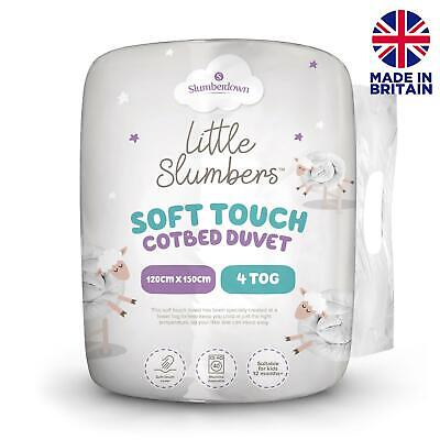 Slumberdown Little Slumbers Soft Touch Cot Bed Duvet