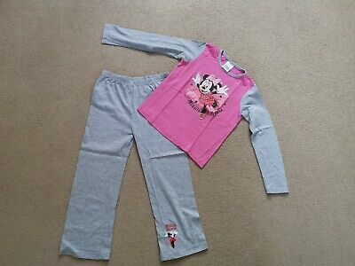Girls Minnie Mouse Pyjamas Set – Age 5-6 Years
