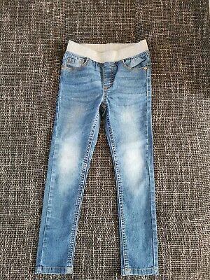 Girl's Blue Denim jeans trousers age 5-6 years