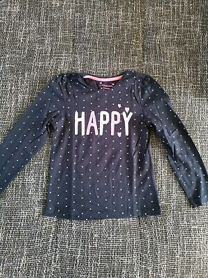 Girls Kids Long Sleeved T-Shirt Aged 6-7 Years