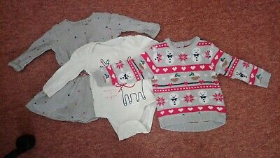 Baby girl 12-18 months Christmas-y Bundle Next, Gap, Mothercare