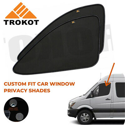 Mercedes Sprinter 2006-2018 Custom Fit Front Window MAGNETIC Sun Shades Blinds