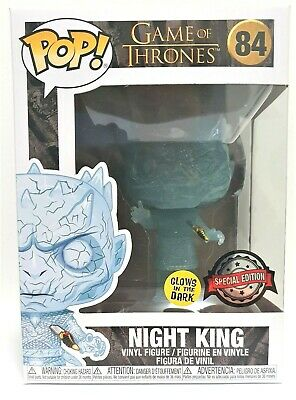 Funko Pop Night King With Dagger Glow # 84 Game of Thrones Vinyl Figure