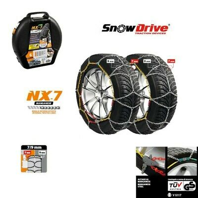 Catene da neve BMW SERIE 4 F36 Gran Coupè 225 45 18 R18 per ruote grip 7 mm in
