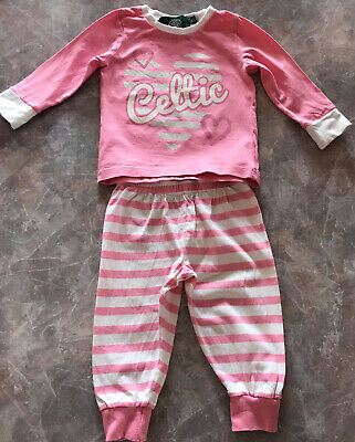 Celtic Pink Pyjamas... 12-18mths... In Good Condition