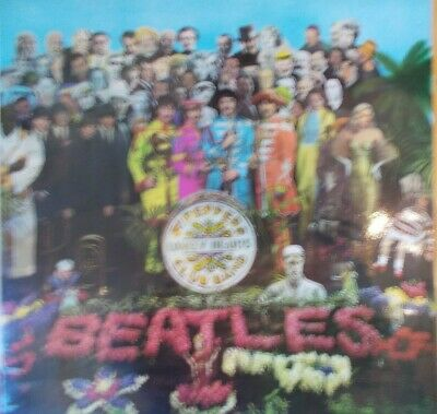 """THE BEATLES ~ """"Sgt.Peppers Lonely..""""  (Parlophone) Italy -1967 - NEW & SEALED!!"""