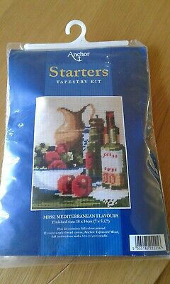 "Anchor Starter Tapestry Kit, ""Mediterranean Flavours "" Mr961"