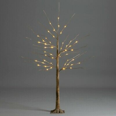 LED Christmas Birch Tree Warm White Pre Lit Twig Light Decoration Indoor Outdoor