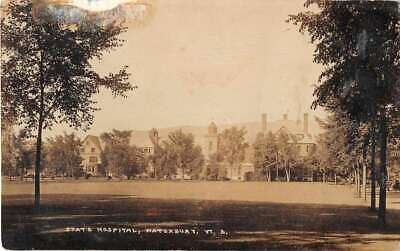 Waterbury Vermont State Hospital Grounds Real Photo Postcard JJ649836
