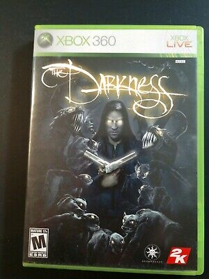 XBOX 360 THE DARKNESS 2007 Video Game w/ Manual