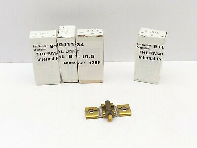 Square D B19.5 Thermal Unit, Overload Relay, Heater Element LOT OF 4