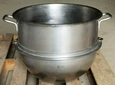 60 Quart Mixing Bowl Commercial Mixer Clean Heavy Stainless Steel
