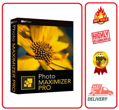 InPixio Photo Maximizer Pro5☑Lifetime Activation☑Fast Delivery☑Unlimited Install