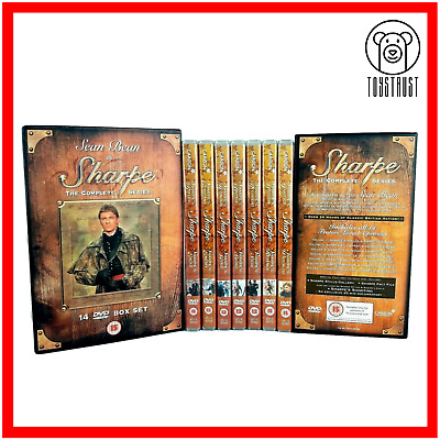 Sharpe The Complete Series 14 Disc DVD Box Set 2005 Sean Bean Region 2 C2