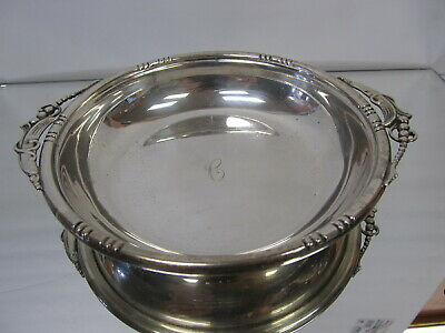 """J Wagner & Son Choice Sterling Silver Bowl # 135 7"""" W Xlnt Cond"""
