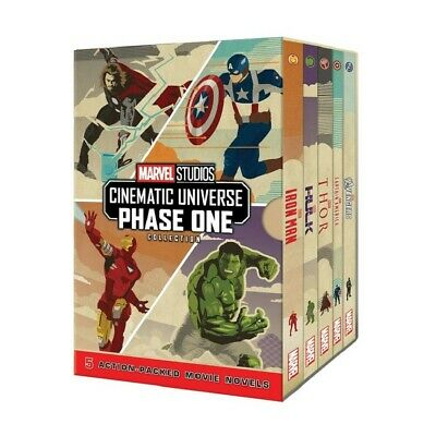 Marvel Studios Cinematic Universe Phase One Collection Box Set