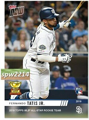 2019 Topps Now Fernando Tatis Jr. RC #RC5 All Star Rookie Cup Team