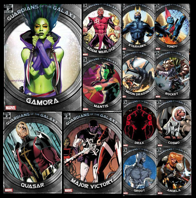 Topps Marvel Collect Card Trader Guardians Of The Galaxy 3Rd Printing [13 Cards]