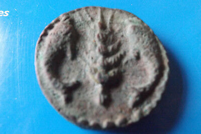 Christmas Gift Ancient Egyptain Dynasty Coin Ptolemaic Age 305 BC River God Rare