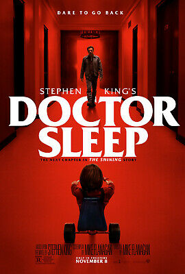 "Set 2 2019 ""Doctor Sleep"" Stephen King Movie Shining REDRUM Promo 11""X17 Poster"