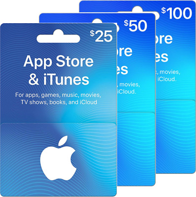 $25/$50/$100 iTunes GIFT CARD ***FREE FIRST CLASS SHIPPING***
