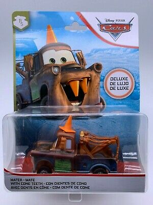 """Disney Pixar Cars Diecast Mater With Cone Teeth Deluxe """" Good For Opener """""""