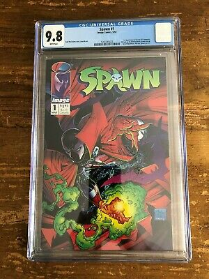 Spawn #1 CGC 9.8 NM/MINT 1st appearance of Spawn Todd McFarlane cover Image 1992