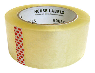 """Houselabels 1 Roll 2"""" x 110yd 330ft 2mm 50 Micron Packing Tape"""