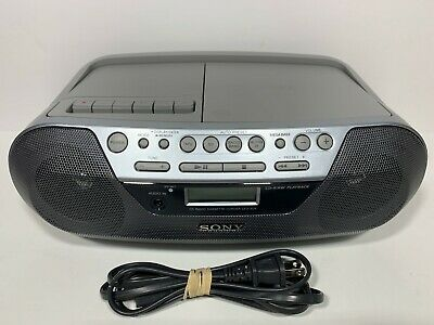 Sony CFD-S05 - CD Player-Radio-Cassette-AUX  Boombox Stereo Portable - S01