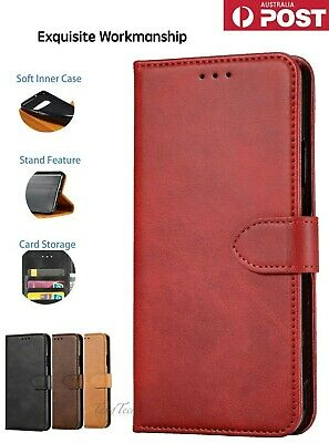 【Genuine Leather】Magnetic Flip Wallet Case Cover for iPhone7 8 XS XR XSMAX 11PRO