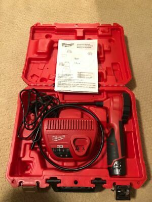 MILWAUKEE 2313-20 M12 Video Borescope, 2.7 In, 36 In Shaft