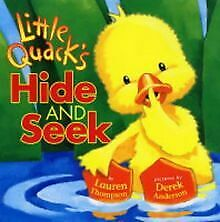 Little Quack Hide and Seek de Lauren Thompson | Livre | état bon