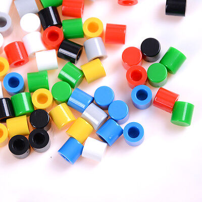 50Pcs Push-botton Cap for 6x6mm Momentary Tactile Switches Key Caps Wi