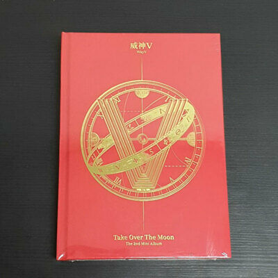 WAYV 2nd Mini Album TAKE OVER THE MOON CD PhotoBook PhotoCard Poster