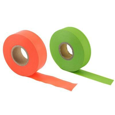 High Visibility Camping Outdoor Garden Tool Flagging Tape Marking Safety Ribbon