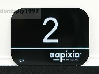 Dental 2# PSP Plate digital scanX Apixia Phosphor plate X-ray imaging for adult