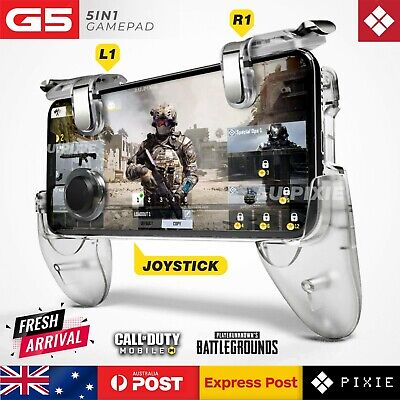 Transparent Mobile Phone Game Trigger Joystick Gamepad Controller For PUBG COD