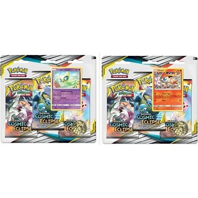 Pokemon Cosmic Eclipse Three Booster Pack - Assorted*