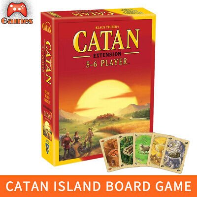 Family Trade Card Game Settlers Of CATAN Strategic Social Board Game Brand Hot