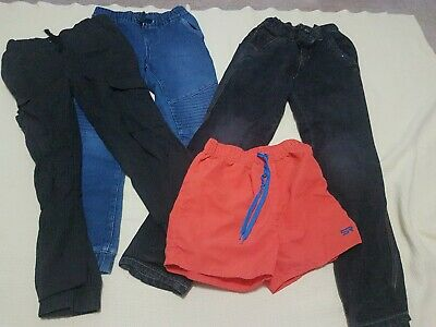 Boys Pants/Jeans/Shorts Used Sz8 & 10 (4pce's)