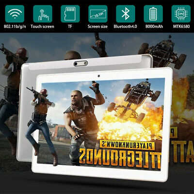 10.1'' 2.5D IPS Tablet PC 16GB WiFi 3G Tableta Android 8.0 Ten core doble cámara