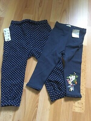 Girls New Trousers / Leggings With Tags From Next & Nutmeg 1.5/2 Years