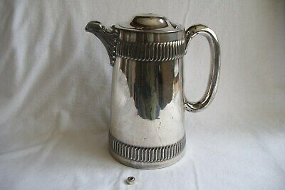 Antique Walker & Hall Engraved Coffee Pot.