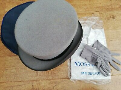 Moss Bros Groom Hat, Gloves And Shirt